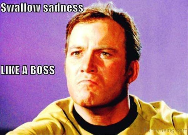 Swallow Sadness Like A Boss