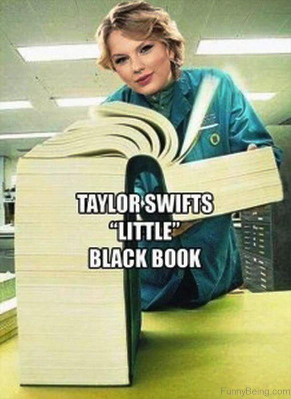 Taylor Swifts Little Black Book