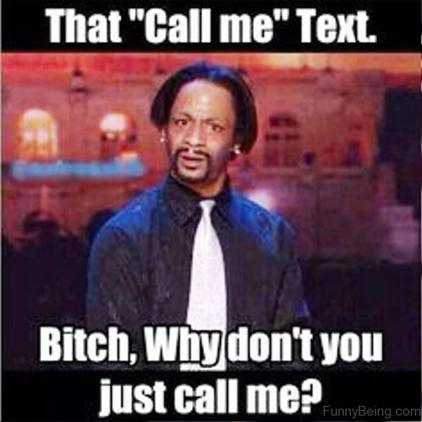 That Call Me Text