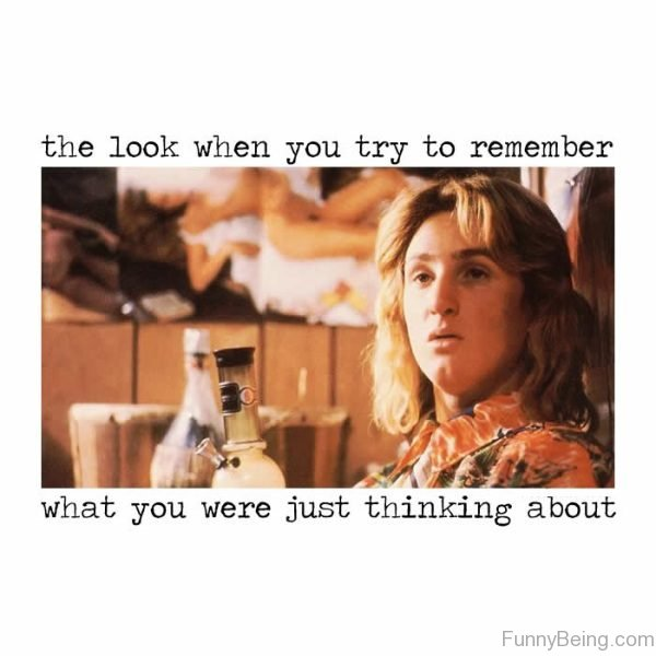 The Look When You Try To Remember