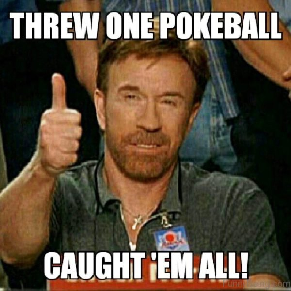 Threw One Pokeball
