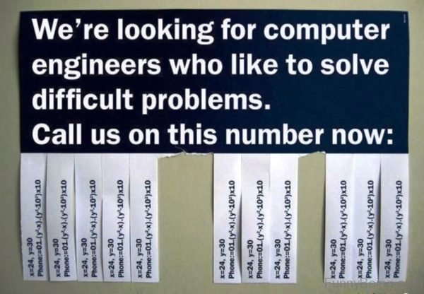 We re Looking For Computer Engineers