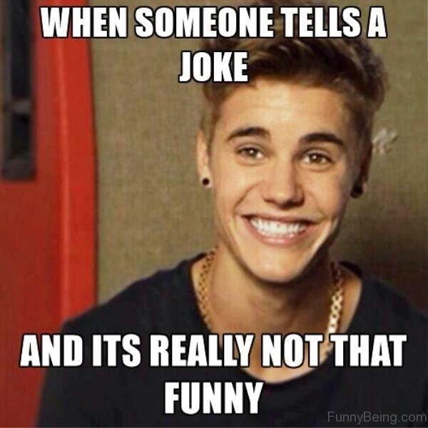 When Someone Tells A Joke