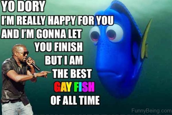 Yo Dory Im Really Happy For You