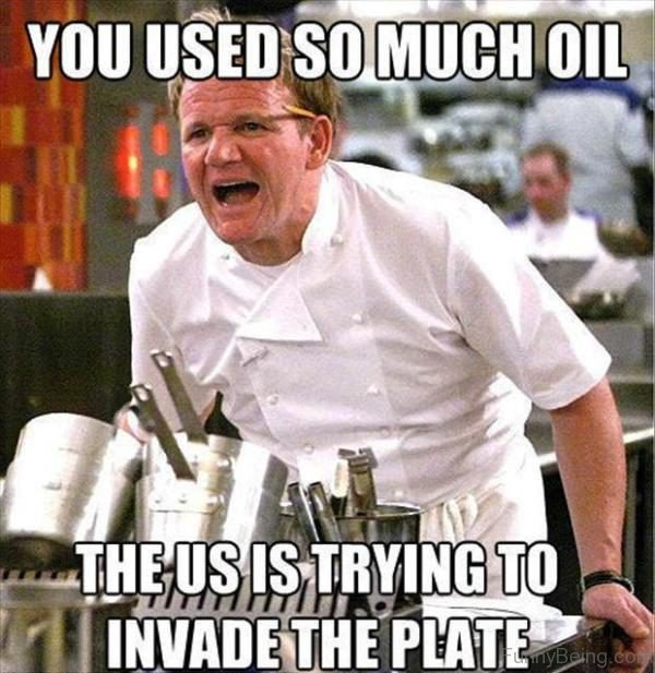 You Used So Much Oil