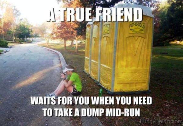 A True Friend Waits For You