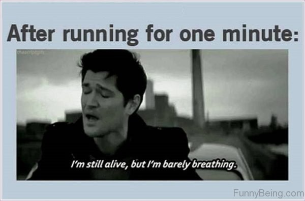 After Running For One Minute