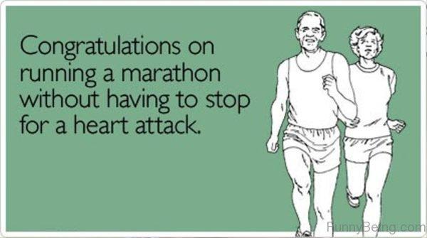 Congratulations On Running A Marathon