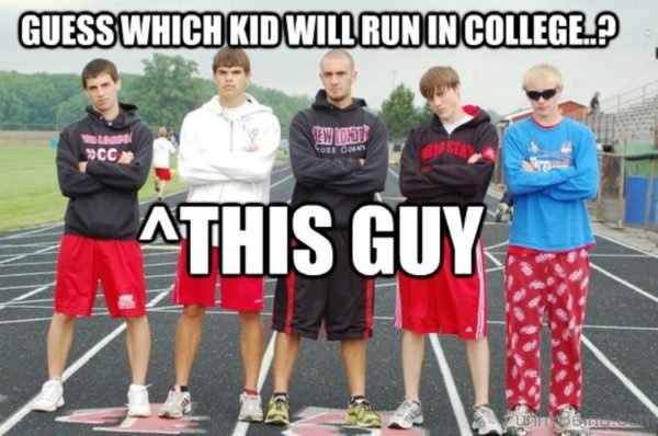 Guess Which Kid Will Run In College