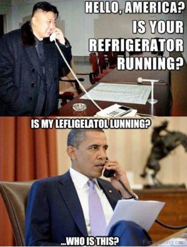 Hello America Is Your Refrigerator Running