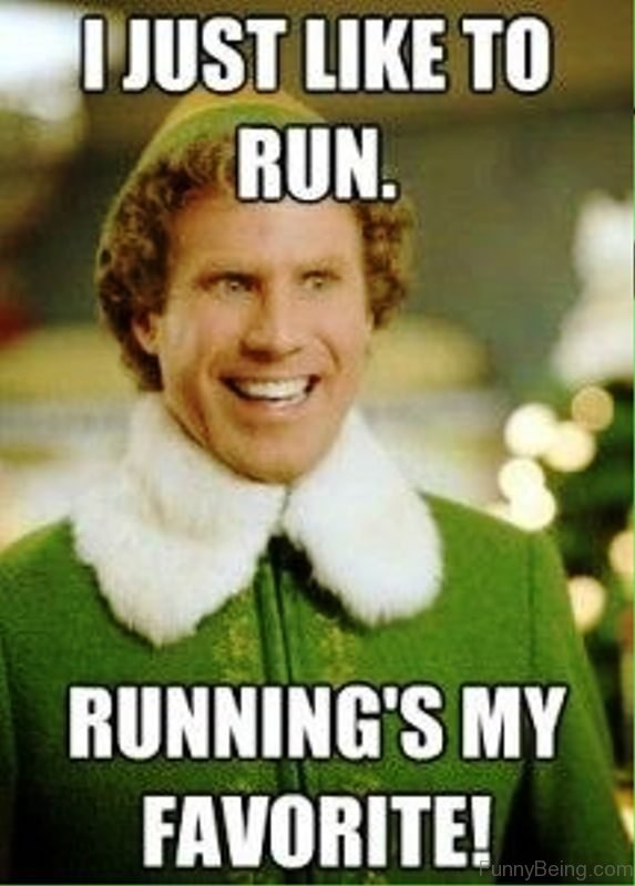 I Just Like To Run