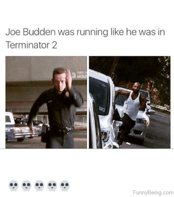Joe Budden Was Running Like