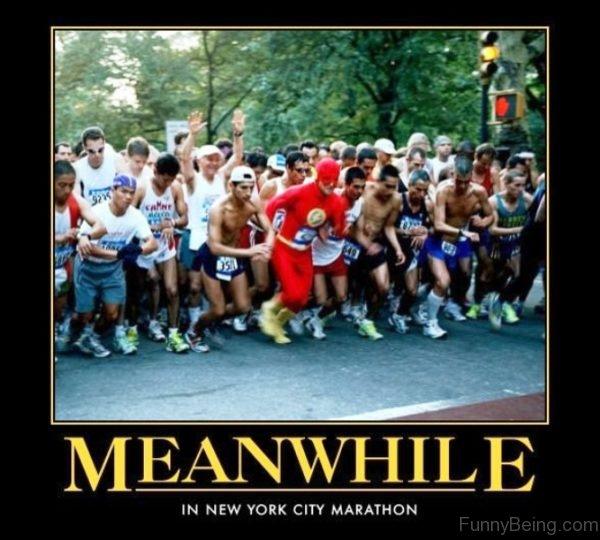 Meanwhile In New York City Marathon