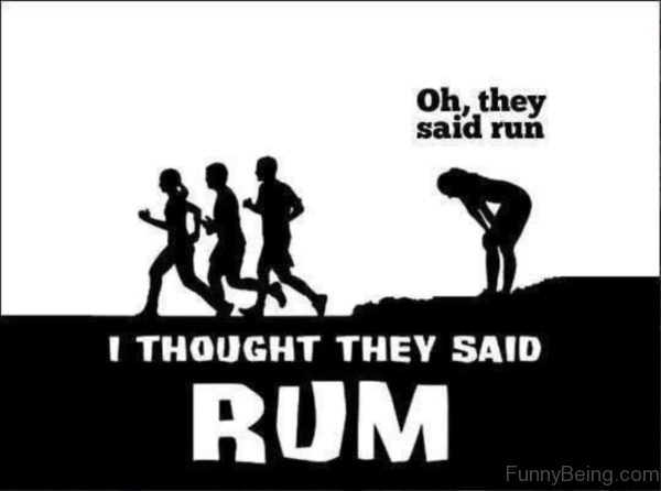 Oh They Said Run