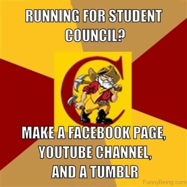 running for student council We have officially kicked off our 2017-18 student council year we would  you  must also have a speech prepared (under 30 seconds) that describes what  officer position you are running for and why you are the best person for that  position.