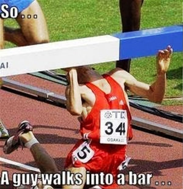 So A Guy Walks Into A Bar