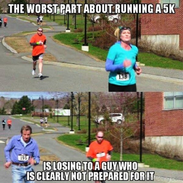 The Worst Part About Running A 5K