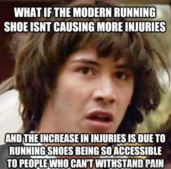 What If The Modern Running Shoe