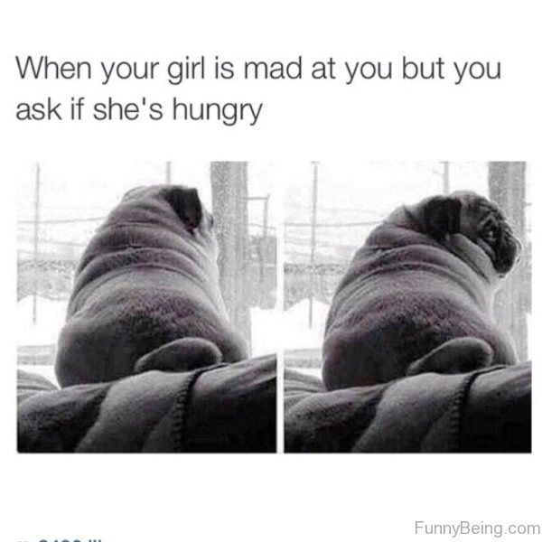 When Your Girl Is Mad At You