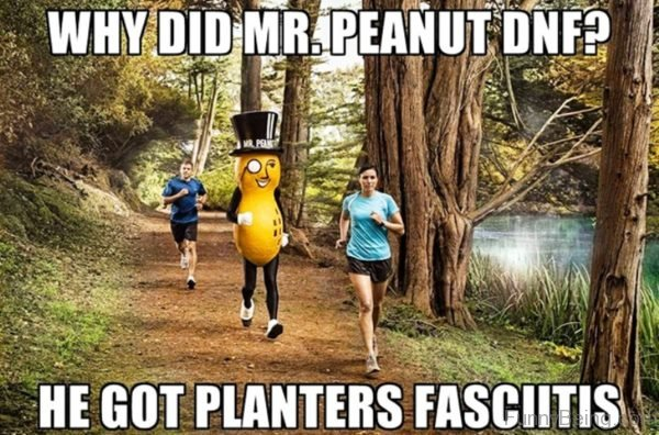 Why Did Mr Peanut DNF