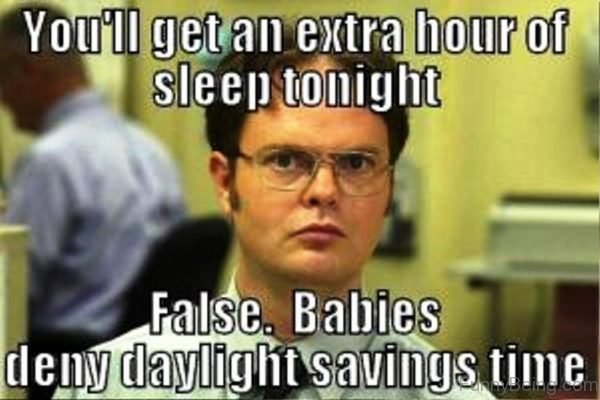 You ll Get An Extra Hour Of Sleep Tonight