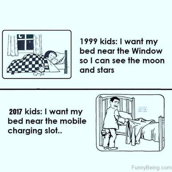1999 VS 2017 Kids