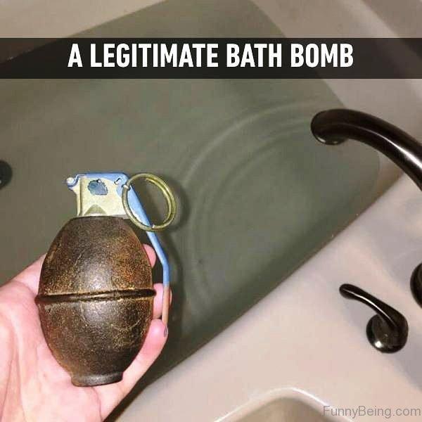 A Legitimate Bath Bomb