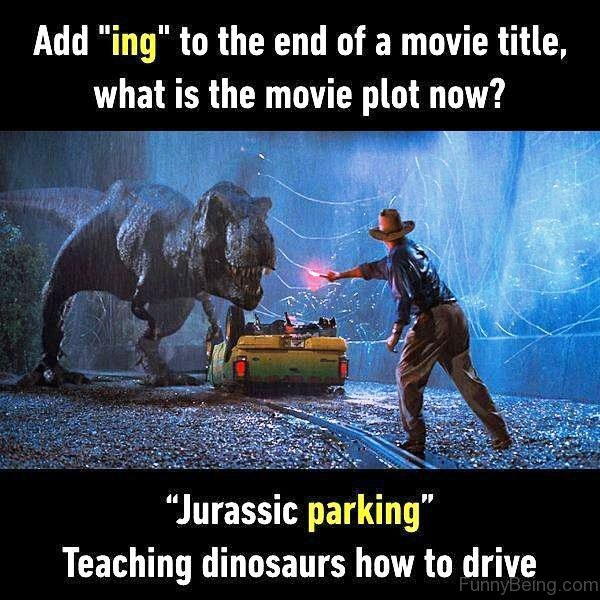 Add ING To The End Of A Movie Title