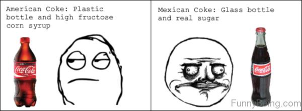 American Vs Mexican Coke