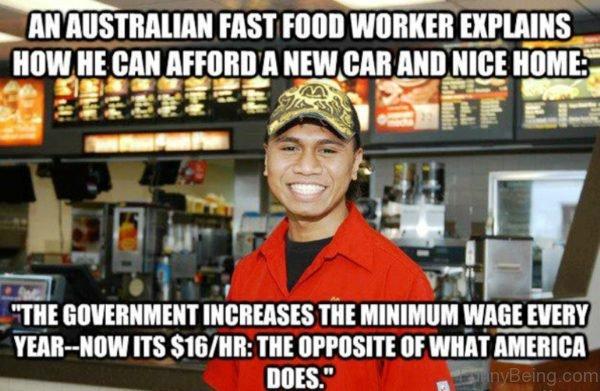 An Australian Fast Food Worker Explains