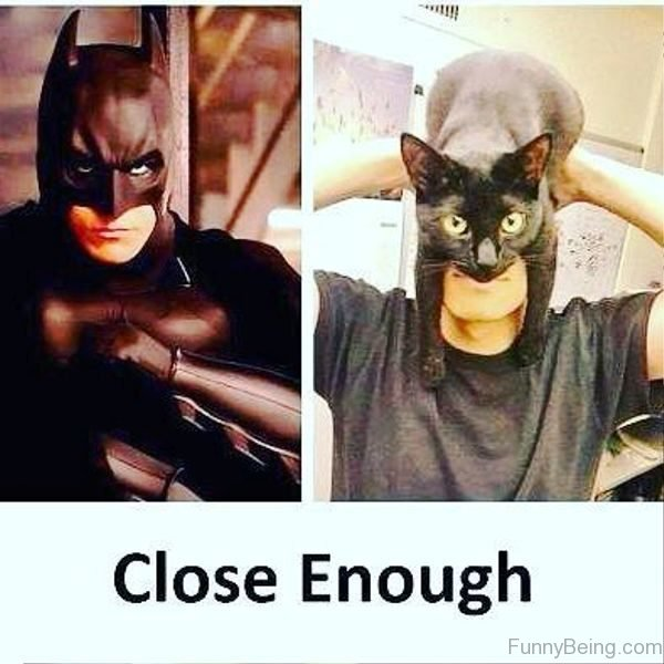 Close Enough Of Batman