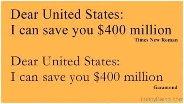 Dear United States