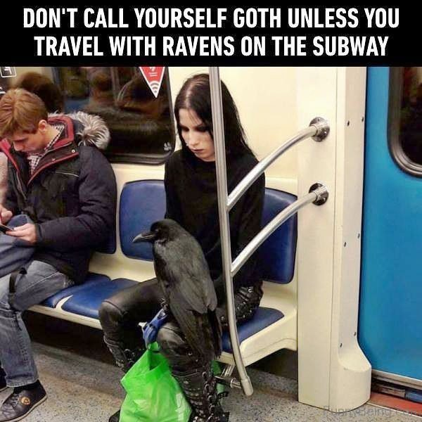 Dont Call Yourself Goth