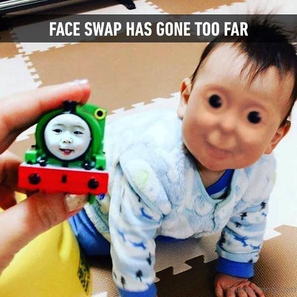 Face Swap Has Gone Too Far