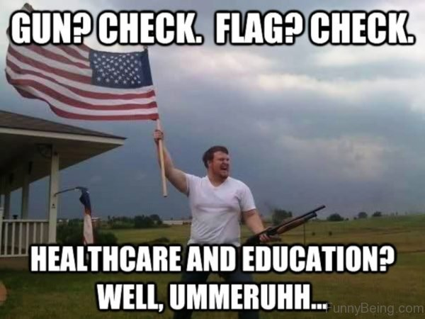 Gun Check Flag Check