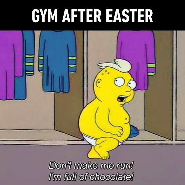 Gym After Easter