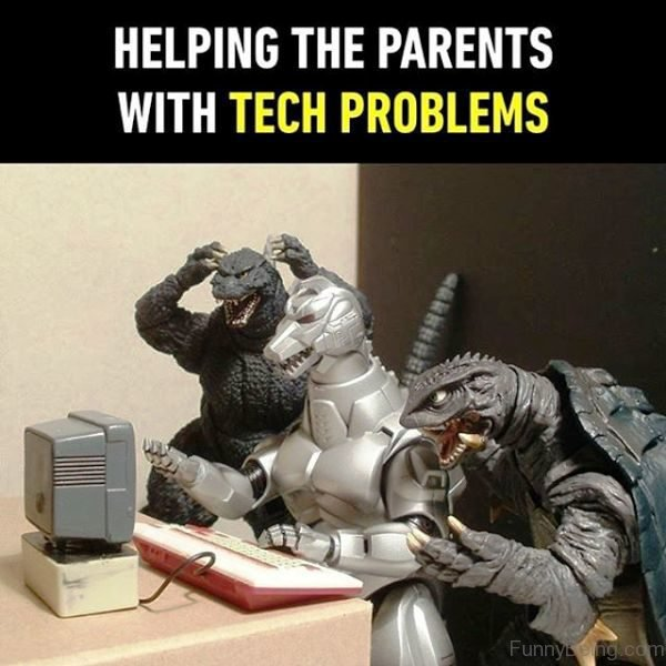 Helping The Parents With Tech Problems