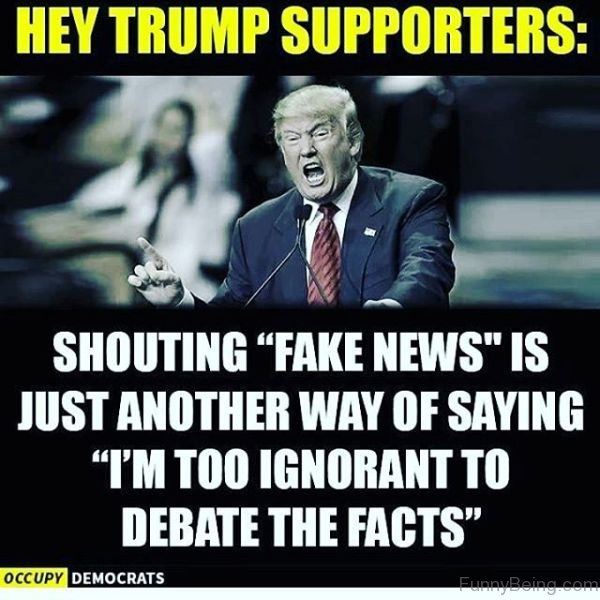 Hey Trump Supporters 25 donald trump vs cnn fake news memes