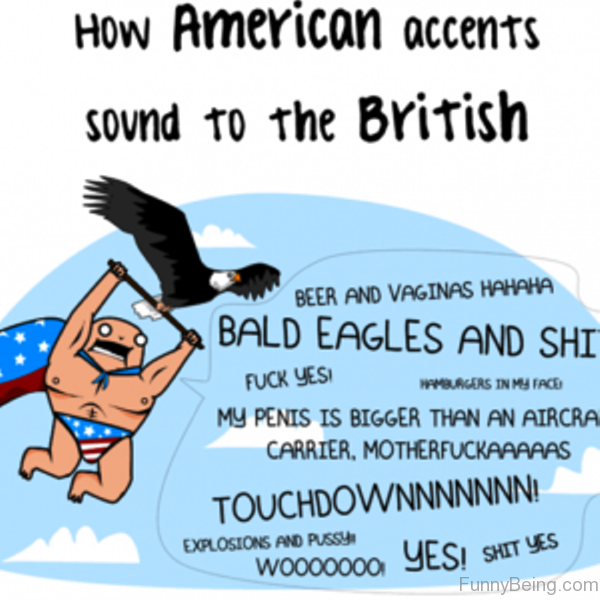 How American Accents Sound To The British