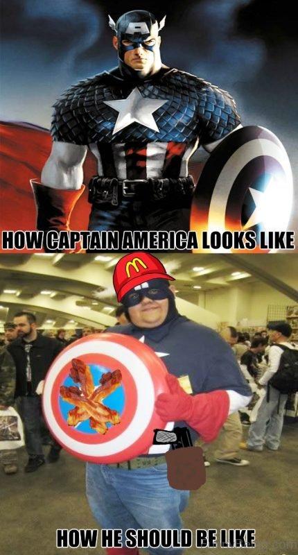 How Captain America Looks Like