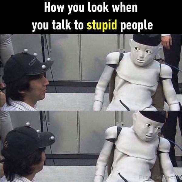 How You Look When You Talk