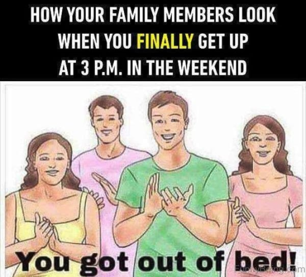 How Your Family Members Look