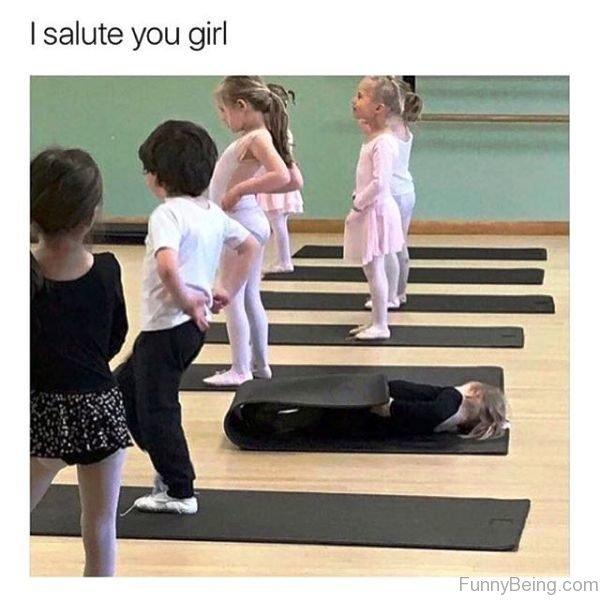 I Salute You Girl