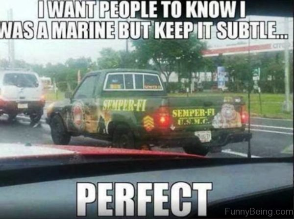 I Want People To Know I Was A Marine