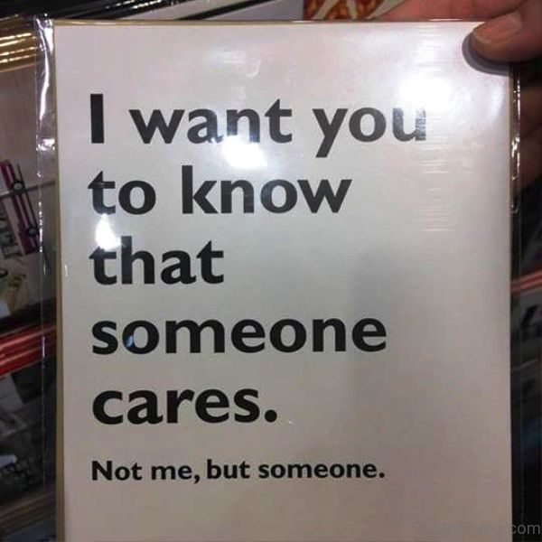 I Want You To Know That