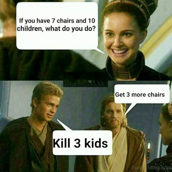 If You Have 7 Chairs And 10 Children