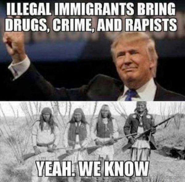 Illegal Immigrants Bring Drugs