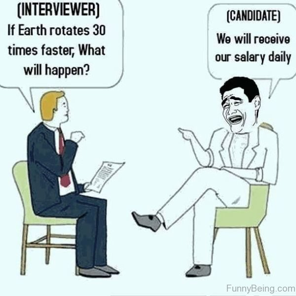 Interviewer Vs Candidate