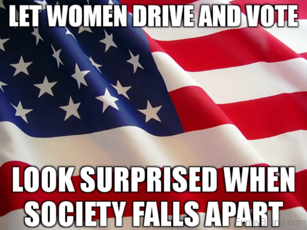 Let Women Drive And Vote