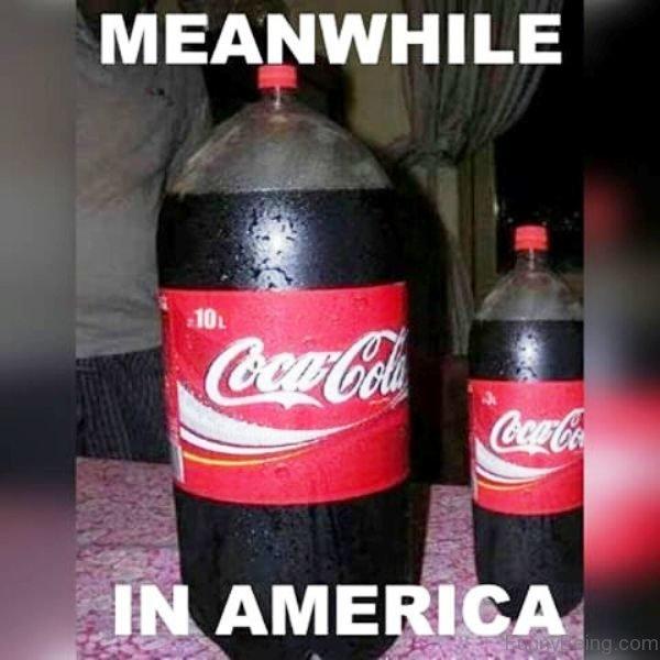 Meanwhile In America Coca Cola